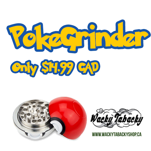 Pokeball Herb Grinder from Wacky Tabacky Shop