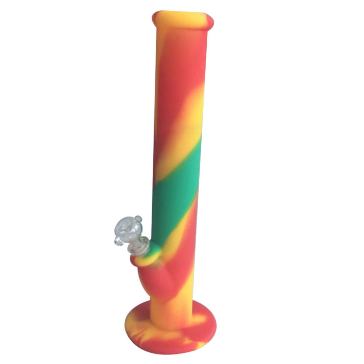 Rasta Silicone Bong from Wacky Tabacky Shop Montreal Worldwide Shipping