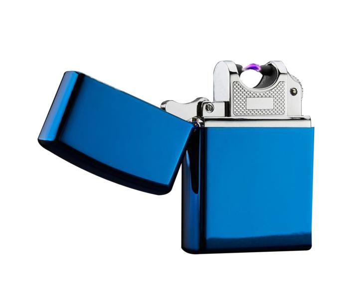 Metallic Blue Electric Pulse Lighter